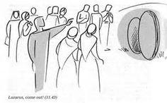 Annie Vallotton - Good News Bible Scripture Art, Bible Art, Good News Bible, Bible Images, Bible Illustrations, Man Illustration, Bible Study Tools, Vacation Bible School, Catholic Prayers