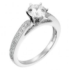 Diamond Nexus True Love Ring ($795). Man Made Diamond, but looks just as beautiful!  I want it!