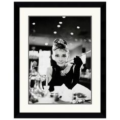 I pinned this Breakfast at Tiffany's Framed Print from the SoJo Design event at Joss and Main!
