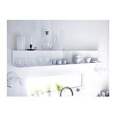 BOTKYRKA Seinähylly - valkoinen - IKEA