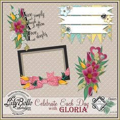CELEBRATE EACH DAY by LilyBelle Designs [LilyBelle Designs] - $1.50 : Ivy Scraps - Store