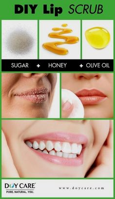 DIY Lip Peeling - Zucker, Honig, Olivenöl - Health and wellness: What comes naturally Beauty Tips For Glowing Skin, Health And Beauty Tips, Beauty Skin, Health Tips, Face Beauty, Health Benefits, Beauty Makeup, Face Skin Care, Diy Skin Care