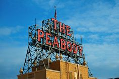 Rooftop Sign by cwwycoff1, via Flickr