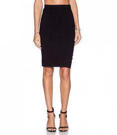 Velvet by Graham & Spencer Engineered Body Con Rayanne Skirt ($86)
