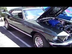 Video 1969 Mustang GT Sportsroof at the Fabulous Fords Forever 2013