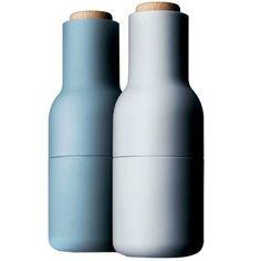 Menu 4418299 Additions Bottle Mühle 20 cm, 2-teilig, blau