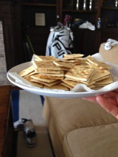 What's the perfect way to cap off a tough Friday at Kiawah? How about some snacks? Rickie Fowler made these to share with Bubba Watson -- and thanks to Bubba for sharing the photo.