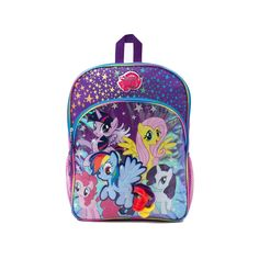 MLP backpack - Where's Appplejack?