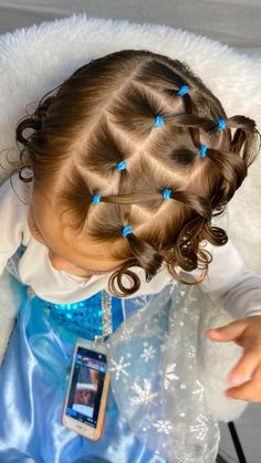 Easy Toddler Hairstyles, Kids Curly Hairstyles, Baby Girl Hairstyles, Princess Hairstyles, Short Hair For Kids, Braids For Long Hair, Easy Little Girl Hairstyles, Girl Hair Dos, Toddler Girl Hair