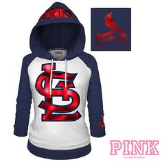 St. Louis Cardinals Victoria's Secret PINK® Raglan Pullover Hoodie - Think I might order today