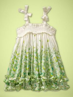 Smocked bow dress Product Image