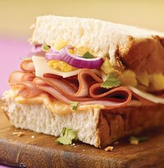 Simple, delicious, and oh, so summery! Try this Maui Luau Sandwich from Kraft and check out the rest: https://kraft.promo.eprize.com/summer/ Ends 9/30/15