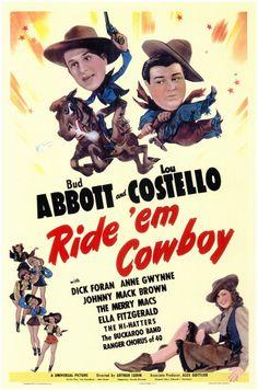 Ride 'Em Cowboy {1942}