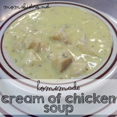 It's Easier Than You Think! Homemade Cream of Chicken Soup - Ditch The Can with This Simple 5 Minute Substitution for Cream of Chicken Soup from Scratch - Mom's Bistro