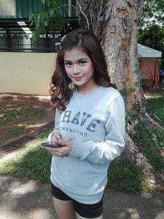 Media Tweets by Maris Racal (@MissMarisRacal) | Twitter Filipina Girls, Celebs, Celebrities, Best Actress, Asian Beauty, Kids Fashion, Graphic Sweatshirt, Singer, Culture