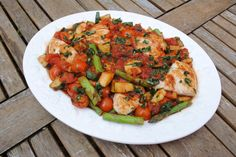 Italian Chicken (can be done in the crock pot also)