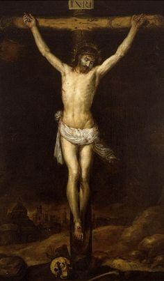 Antonio de Pereda, (1611 - 1678): Crucifixión, 1660.