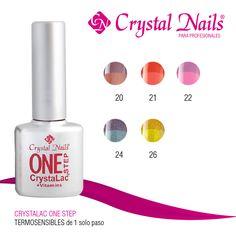 #Colores #Termosensibles #CrystalacOneStep de #CrystalNails