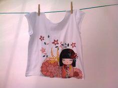 Camiseta pintada a mano para regalo - Norika