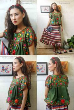 Batik Amarillis Made in Indonesia proudly presents : Viva La Vida!Mexican folk art inspired...
