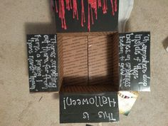 And again, I definitely think I will use a Nightmare Before Christmas theme for my Halloween box!