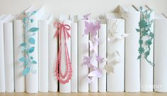Ribbon decor for the bookworm