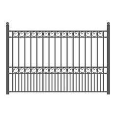 ALEKO® Paris Style Iron Wrought Steel Fence 8' X 5' High Quality Ornamental Fence ALEKO http://www.amazon.com/dp/B00KOV8ZW0/ref=cm_sw_r_pi_dp_EAruwb0M4GM69