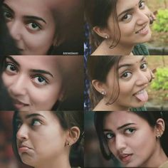 Her expressions r enough no needs of wrds