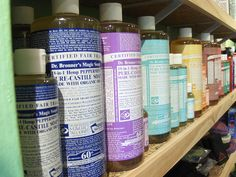 Dr. Bronner's Magic Liquid Soaps - Completely Biodegradable and Vegetable-Based. Made with Certified Fair Trade and Organic Oils. Multi-Purpose: 18-in-1 Uses! No Synthetic Foaming Agents, Thickeners or Preservatives. 100% Post-Consumer Recycled (PCR) Cylinder Bottles and Paper Labels. Simple, Ecological Formulations Based on Old-World Quality and Expertise.