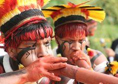 [2] Custumes, vestes e pinturas indígenas