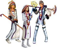 Final Fantasy X-2 Dresspheres: White Mage