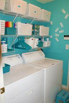 Cuartos de lavado a todo color