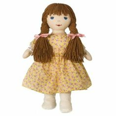 """Best Pals Kathy Original 16"""" inch Rag Doll by KatJam, Inc.. $25.99. The Best Pals Kathy doll clothes are removable and her hair can be re-styled for added play value.. This adorable doll is an exact replica of a cherished childhood doll beloved by Kathy and Janet Lennon of the famous singing Lennon Sisters.. Best Pals Kathy doll includes endearing embroidered facial features.. This rag doll is soft, sweet, child safe and is part of a numbered and limited edition.. Every B..."""