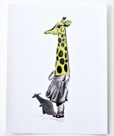 giraffe mask by roma winkel...