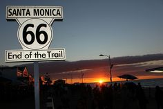 Route 66 Santa Monica to Chicago might be interesting - it could happen