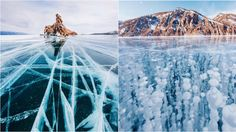 This Photographer Walked Across The Oldest Frozen Lake on Earth and Captured Some Astonishing Photos.