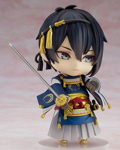 'Touken Ranbu -ONLINE-' Nendoroid of the most beautiful of the Five Great Swords, Mikazuki Munechika!