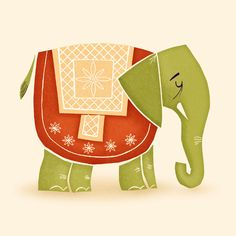 ELEPHANT - Adrian Walsh - Design and Illustration