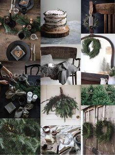 Moodboard di Natale: rustico, caldo e naturale