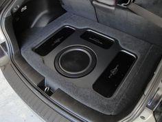 2010 Sti : Stealth SQ install with a slight twist :) Custom Car Audio, Custom Cars, Audio Design, Sound Design, Spark Gt, Jetta A2, Car Audio Installation, Subwoofer Box Design, Jl Audio