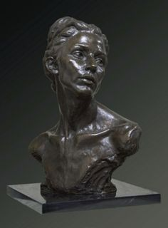 What Was | Alicia Ponzio sculpture in bronze on belgian marble base