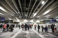 Photo from the Birmingham New Street test day 8 April 2013