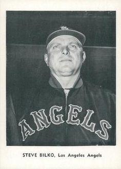 1961 Jay Publishing Los Angeles Angels #NNO Steve Bilko Front