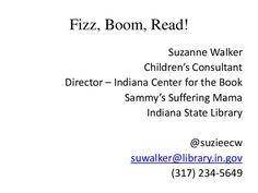 fizz-boom-readno-art by Indiana State Library via Slideshare