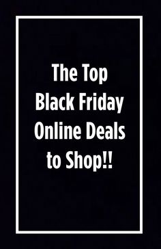 MyBestBadi: The BEST Black Friday Online Deals to Shop NOW!!