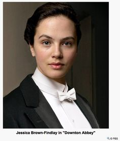Lady Sybil Crawley, youngest daughter of Lord and Lady Grantham. Sybil Downton, Downton Abbey Characters, Downton Abbey Season 3, Lady Sybil, Melissa George, Victor Victoria, Jessica Brown Findlay, Ali Macgraw, Dowager Countess
