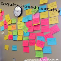 Try using an inquiry wall with your students! Instant engagement and interactive. #teaching #teachers #learning