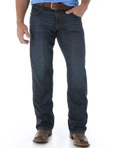 Wrangler Men's Retro Relaxed Fit Boot Cut Jean In Abilene Finish