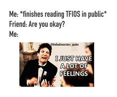 Luckily I wasn't reading in public... Otherwise people would have been wondering why I was crying buckets...
