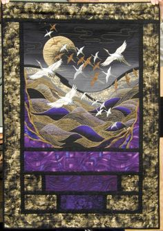 ❤ =^..^= ❤  Cat Patches: Patti Hyder quilts ~ Oh, how I wish I could see this up close!!!!!